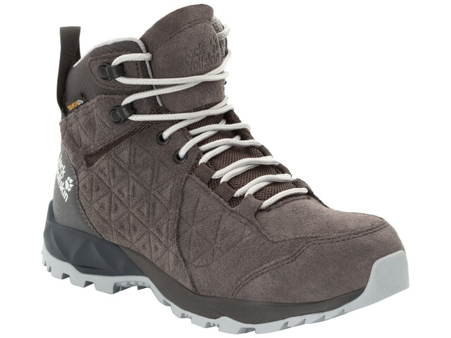 separation shoes e6ccf 07b22 Jack Wolfskin Cascade Hike LT Texapore Mid-Cut Schuhe Damen dark  steel/phantom
